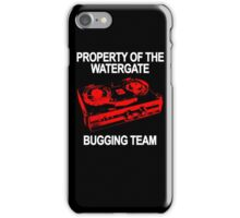 Watergate Bugging Team iPhone Case/Skin