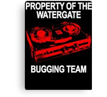 Watergate Bugging Team Canvas Print