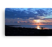 St John's Point Sunrise Canvas Print