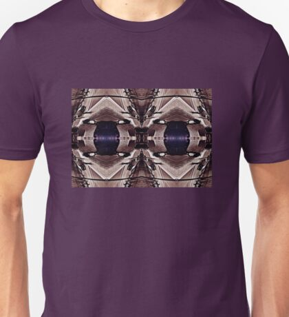 Purple Eyed Bench Unisex T-Shirt