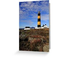 St John's Point, Lighthouse Greeting Card