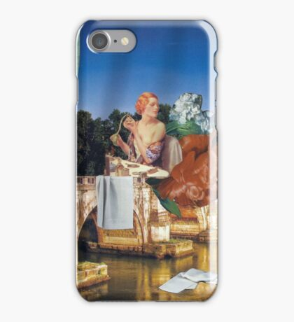 Beauty routine iPhone Case/Skin