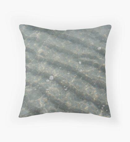 Sea Sand Throw Pillow