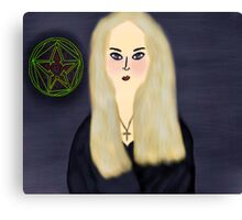 Witch Of The Stars Canvas Print