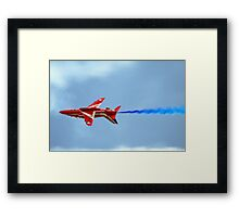 Lone Red Arrow Framed Print