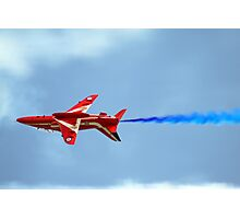 Lone Red Arrow Photographic Print