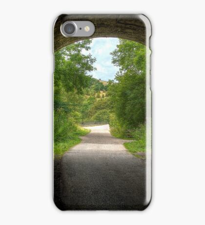 """Old Railway Tunnel, Monsal Dale"" iPhone Case/Skin"