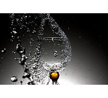 Movement of water Photographic Print