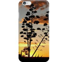 """Garingbome"" Silhouette... The Sisal Plant (Captured from my backyard) iPhone Case/Skin"