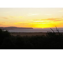 Home Sunset Photographic Print