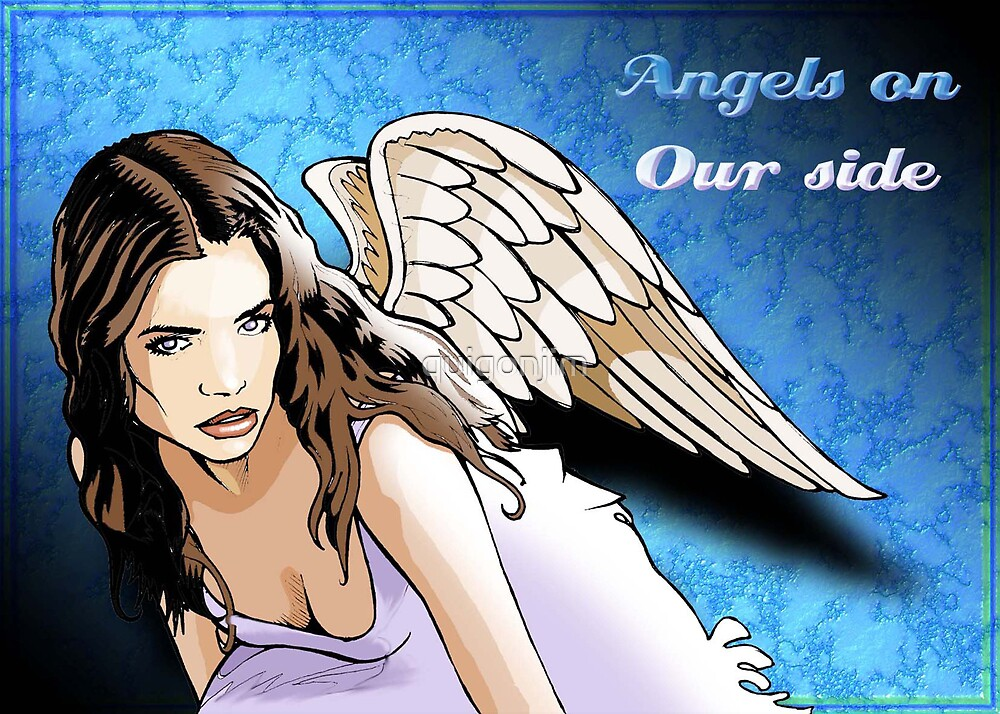 Angels On Our Side: Heavenly Angel by quigonjim