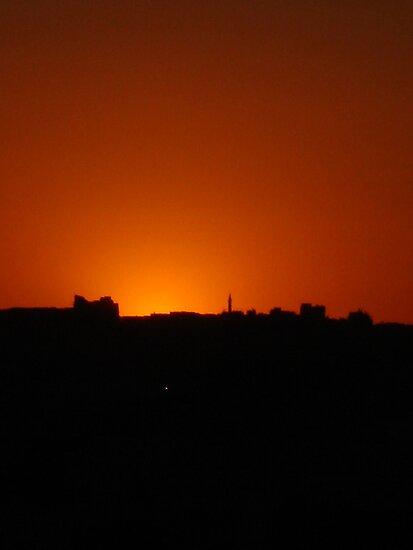 Jordan sunset by richiewright