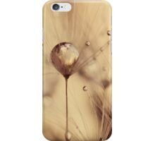 touch of gold iPhone Case/Skin