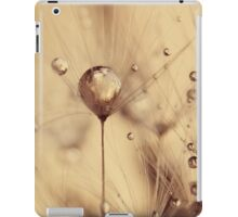 touch of gold iPad Case/Skin