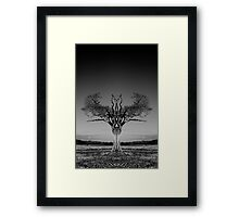 The Rihanna Tree Symmetry Framed Print