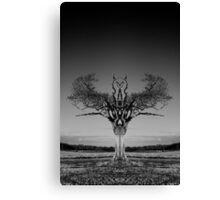 The Rihanna Tree Symmetry Canvas Print