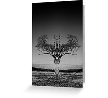 The Rihanna Tree Symmetry Greeting Card