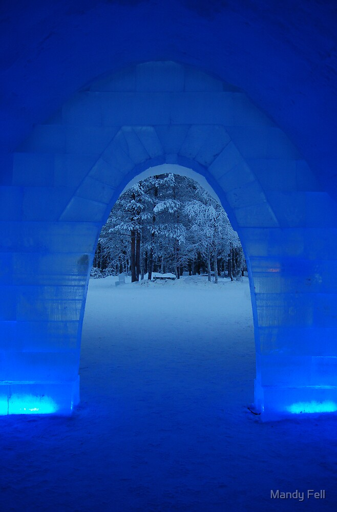 The Snow Hotel Finland by Mandy Fell