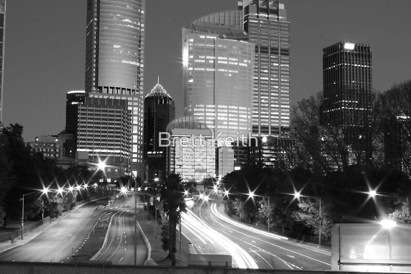 Sydney B&W by Brett Keith