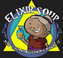 Elixir Soup - Zelda Windwaker by WalrusTash