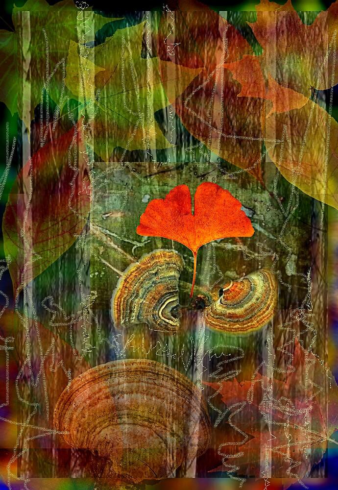 forest Collage by Sabine Spiesser