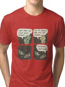 Pokemon - Kakuna & Metapod Tri-blend T-Shirt