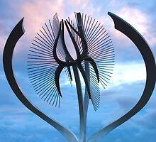Stormy steel by Marianne