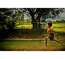Spear Throwing Photographic Print