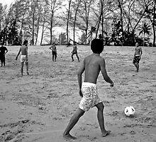 Thai beach football by lotusboat