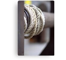 rolling up Canvas Print