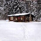 Christmas Cabin by Kathy Weaver