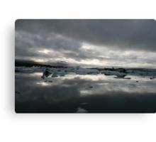 Mirror Ice Canvas Print