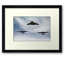 Three Avro bombers Framed Print