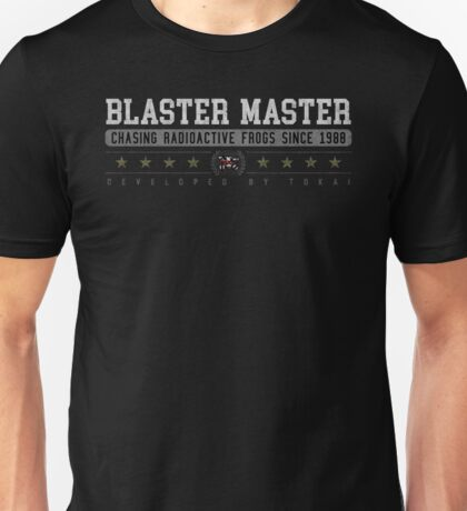 Blaster Master - Vintage - Black Unisex T-Shirt