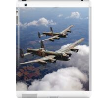 Two Lancasters on tour iPad Case/Skin