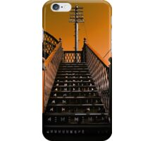 Steps Over The Line iPhone Case/Skin