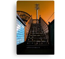 Steps Over The Line Canvas Print