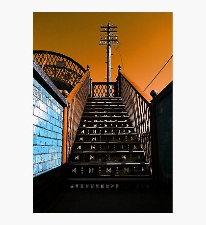 Steps Over The Line Photographic Print