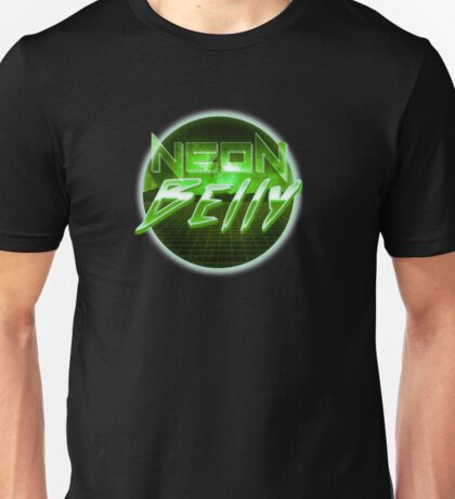 Neon Belly in Green Unisex T-Shirt