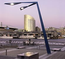 View from Docklands, Melbourne, Australia by Tim Derbyshire