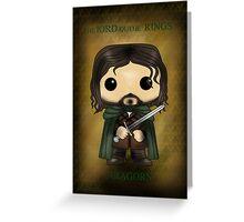 Aragorn Greeting Card