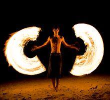 Fire angel colour by Viv van der Holst