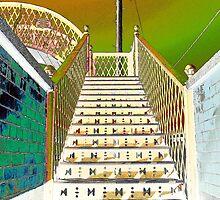 Whitehead Footbridge by Wrayzo