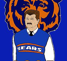 Ditka 1985 by Doug Schultheis