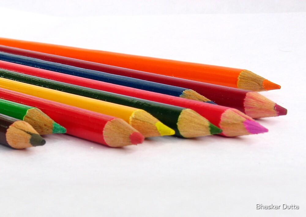 Colour Pencils by Bhaskar Dutta