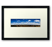 Desolate South Africa Framed Print