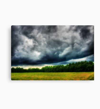 Dark Storm Canvas Print