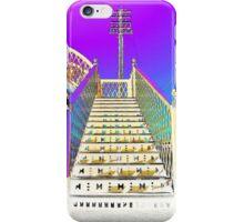 Railway Steps Whitehead iPhone Case/Skin