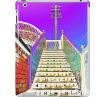 Railway Steps Whitehead iPad Case/Skin