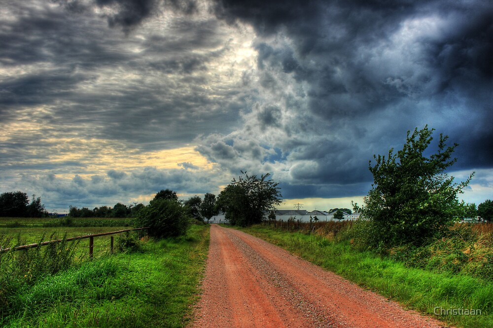 Red Dirt Road  by Christiaan